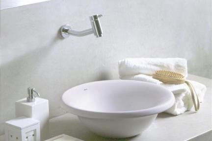 כיור מונח לחדר אמבטיה L503. מידה: קוטר 40  צבע לבן  ==============