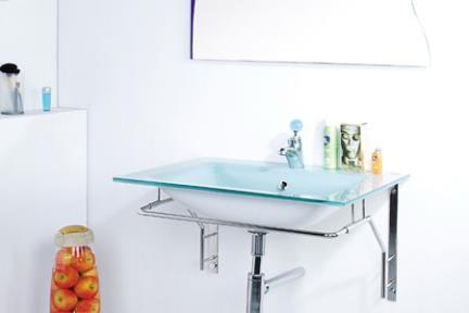 כיור זכוכית  כיור אמבטיה מונח עשוי זכוכית 3203. דגם: 3203-8  צבע סילבר  דגם 3203-11  צבע ירקרק