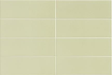 """אריחי פורצלן דק מסדרת PURE COLOR בעובי 3.5 מ""""מ 13702. ירוק מנטה בהיר  גודל: 30*10"""