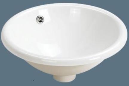 כיור מונח לחדר אמבטיה L53. כיור שולחני עגול  קוטר 42  צבע-לבן