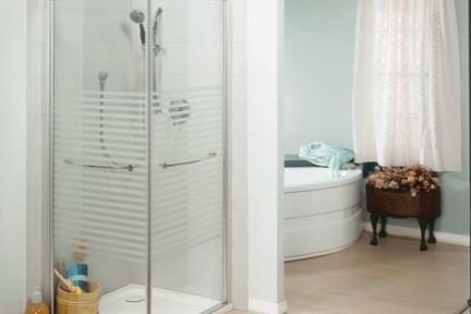 מקלחון פינה מרובע 412