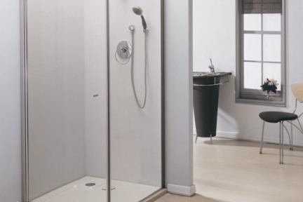 מקלחון פינה מרובע 413