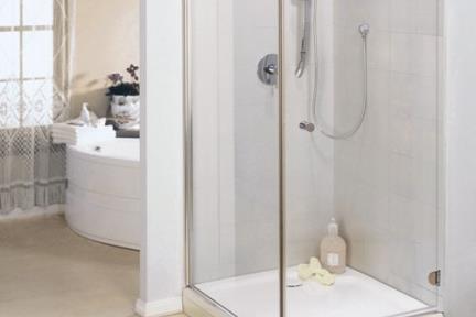 מקלחון פינה מרובע 415