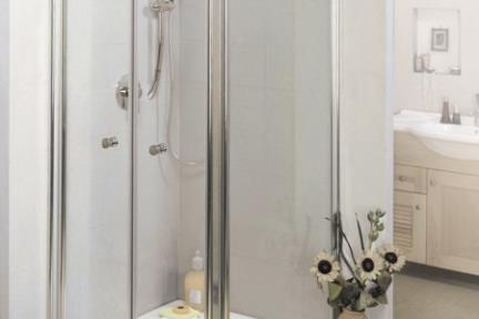 מקלחון פינה מרובע 419