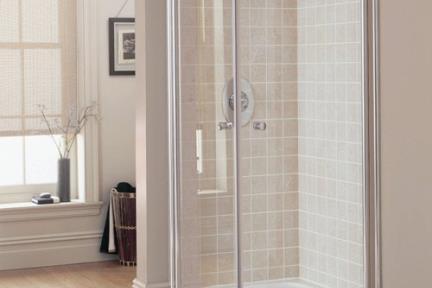 מקלחון פינה מרובע 420