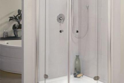מקלחון פינה מעוגל 31