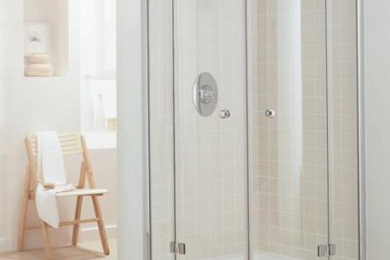 מקלחון פינה מעוגל 33