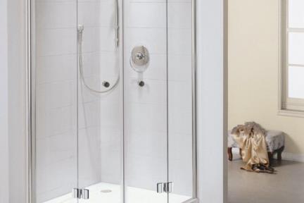 מקלחון פינה מעוגל 34