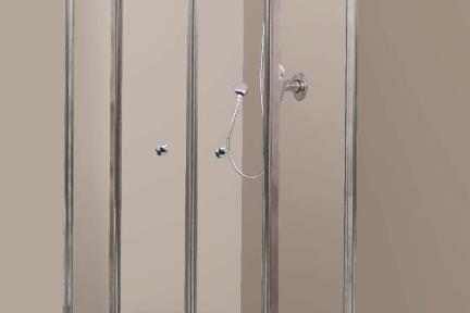 מקלחון פינה מעוגל 36