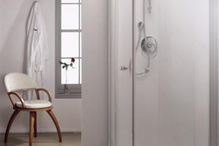 מקלחון פינה מעוגל 37