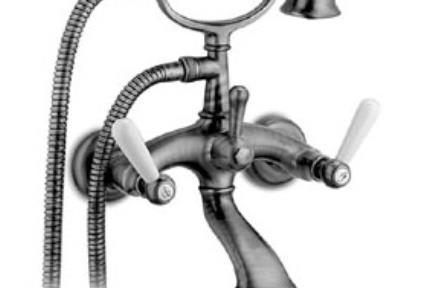 ברז Bongio מסדרת  Oxford 19526. טלפון לאמבטיה  BONGIO-ITALY  קיים בניקל ובסילבר