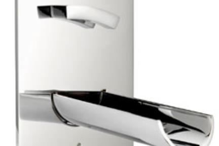 אינטרפוץ + פיה בפנל  AQUAVIVA  ברז Bongio מסדרת Aquaviva 56539. MARIO BONGIO - ITALIA  דגם: 56539