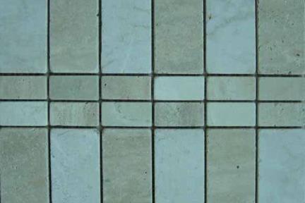 אריחי פסיפס לחיפוי קיר מאבן 3610. פסיפס אבן  רשת 25X30