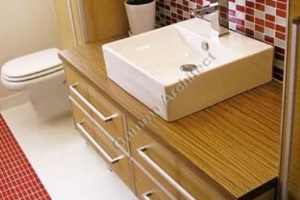 עיצוב חדר אמבטיה. GAMMA ARCHITECTS