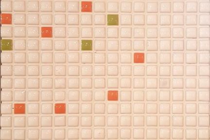 אריחי פסיפס לחיפוי קיר מקרמיקה 3016. פסיפס 1X1  על רשת 30.5X30.5