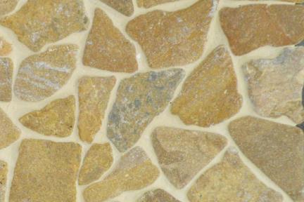אריחי פסיפס לחיפוי קיר מאבן 3458. פסיפס אבן קופר  על רשת 30X30