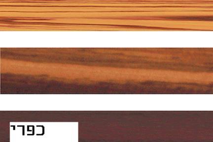 לוח צבעים ארונות סנדויץ.  צבע ארון יש במלאי