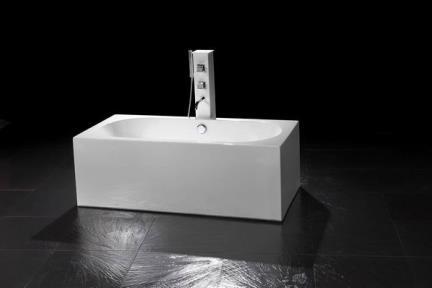 אמבטיה פרי סטנדינג BT75. אמבטיה one piece  170X80   אין במלאי  הזמנה: 3-4 חודשים