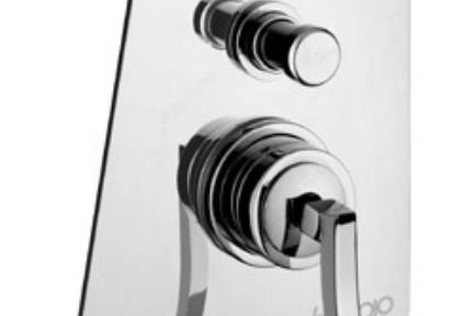 ברז Bongio מסדרת Riva 57529. אינטרפןץ 4 דרך  סדרה RIVA ART  תוצרת: BONGIO-ITALY  לפי הזמנה