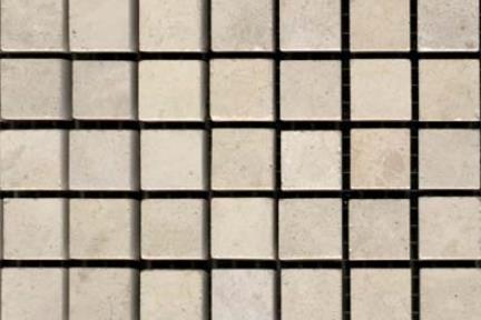 1.5X1.5 על רשת. פסיפס  אבן 1.5X1.5 על רשת  יש מאותה אבן שיש 30X30
