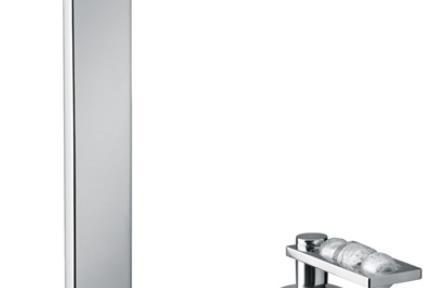 """ברז Bongio מסדרת Mya Crystal 48502. סידרה MYA CRYSTAL  לפי הזמנה מחו""""ל  ברז מהמשטח"""