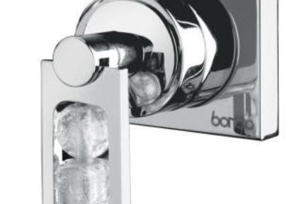 ברז Bongio מסדרת Mya Crystal 48524. אינטרפוץ 3 דרך  סידרה MYA CRYSTAL  תוצרת BONGIO-ITALY