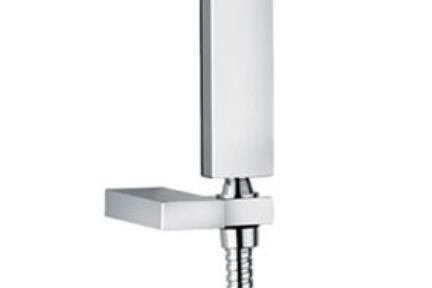 אביזרים לאמבטיה ראשי מקלחת מבית Bongio 828. מאחז+צינור+מזלף  סדרה GRIP  BONGIO