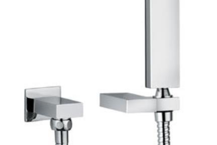 אביזרים לאמבטיה ראשי מקלחת מבית Bongio 838. מאחז+נ.מים+צנור+מזלף  BONGIO
