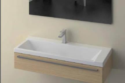 כיור קיר תלוי לאמבטיה 8100. כיור קיר  מידה 60X39  קיים עם או בלי חור