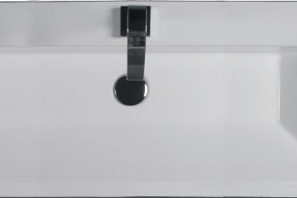 כיור קיר תלוי לאמבטיה 8300. כיור קיר  מידה 100X39  לבן