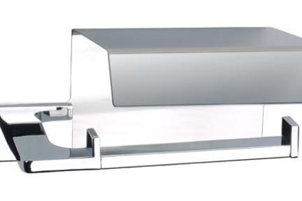 אביזרים לאמבטיה מסדרת 23 23035. מחזיק נייר+כסוי
