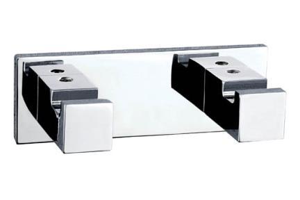 אביזרים לאמבטיה מסדרת 23 23038-2. סט זוג קולבים