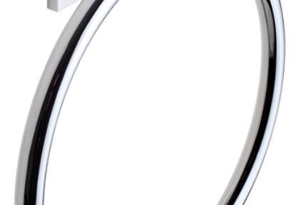 אביזרים לאמבטיה מסדרת 48 48033. מחזיק מגבת טבעת