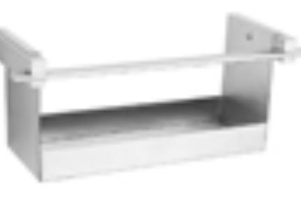 """אביזרים לאמבטיה מסדרת 88 88601. מדף מחזיק שמפו  31 ס""""מ"""