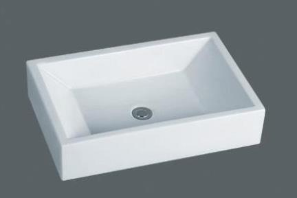 כיור מונח לחדר אמבטיה L5400. כיור מונח לבן  מידה: 60X40  תוצרת סין