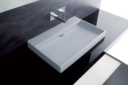 כיור מונח לחדר אמבטיה B700. כיור חרס מונח  מידה: 70X45  תוצרת איטליה