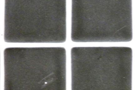 אריחי פסיפס לחיפוי קיר מזכוכית GL1401. פסיפס זכוכית 3.6 שחור מט.