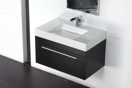כיור אמבטיה אקרילי L6800. כיור אקרילי עם שיפוע פנימי: לבן.  גודל: 80*48.