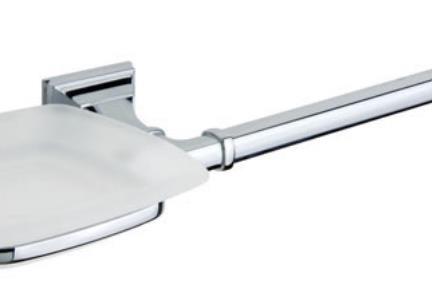 אביזרים לאמבטיה מסדרת 68 683436. מתקן סבוניה + למגבת.