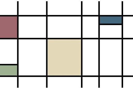 אריחים דקורטיבים גאומטרים P182. דקור אפור-סגול-כחול-ירוק מבריק.  גודל: 30*60.