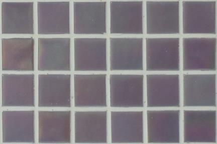 אריחי פסיפס לחיפוי קיר מזכוכית 3853. פסיפס זכוכית 1.5 סגול.  גודל: 32.7*32.7.