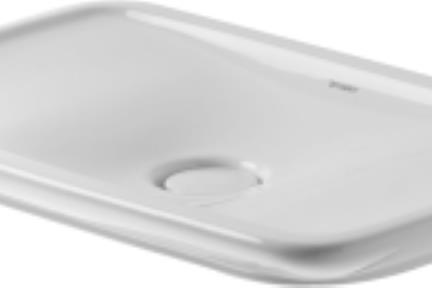 כיור מונח לחדר אמבטיה B43. כיור על.  גודל: 41.5*69.5