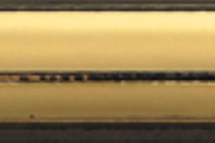"""פרופיל  לגימור 30 ס""""מ k330-8. פס בומבטו זהב.  גודל: 30*12"""