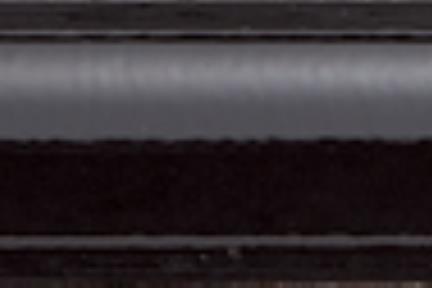 דלם K330-9. פס בומבטו שחור מבריק.  גודל:3*30