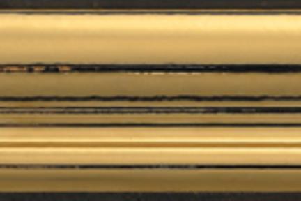 """פרופיל  לגימור 30 ס""""מ K530-8. קרניז זהב.  גודל: 5*30"""