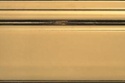"""פרופיל  לגימור 30 ס""""מ K1230-8. סוקל זהב.  גודל: 12*30"""
