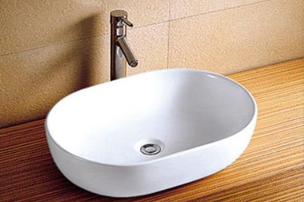 כיור מונח לחדר אמבטיה L590. כיור מונח.  גודל: 41*59  גובה: 14