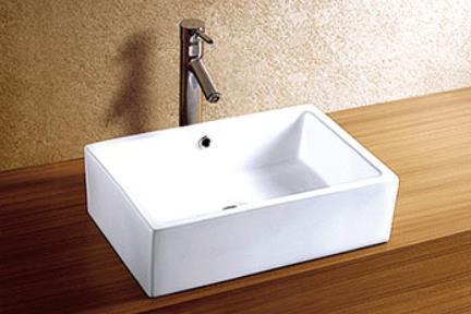 """כיור מונח לחדר אמבטיה L505. כיור מונח.  גודל: 36*51 ס""""מ.  גובה: 15 ס""""מ."""