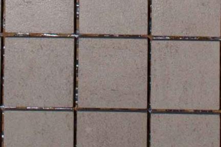 אריחי פסיפס לחיפוי קיר מקרמיקה 3430. פסיפס 5*5 פורצלן טרוורטין.  גודל 30*30