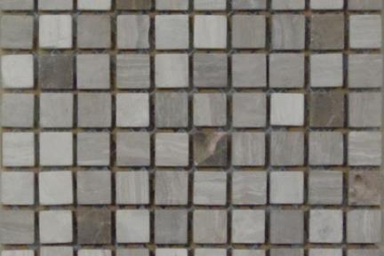 """אריחי פסיפס לחיפוי קיר מאבן 3667. פסיפס 1.5 אבנים חומים.  גודל: 30.5*30.5  מחיר סופי 12 ש""""ח"""